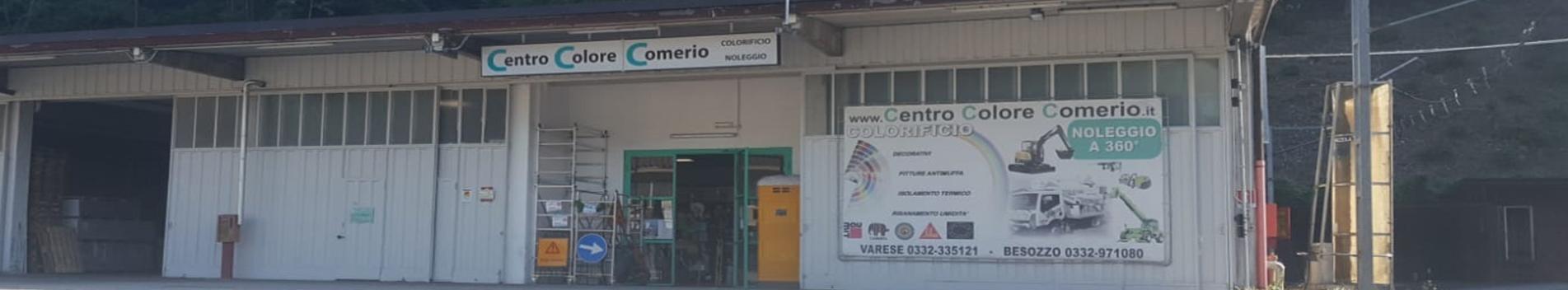 Centro Colore Comerio sede di Varese