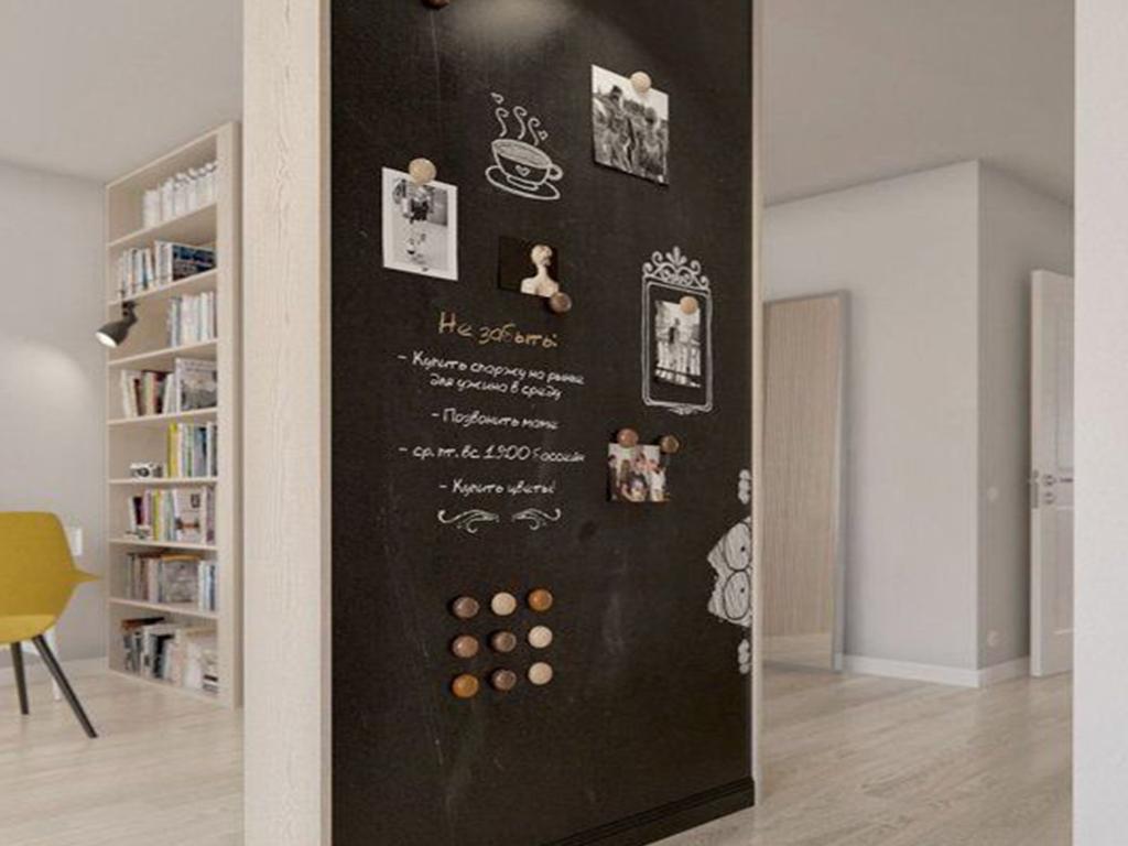 decorazione a lavagna parete effetto lavagna colore opaco