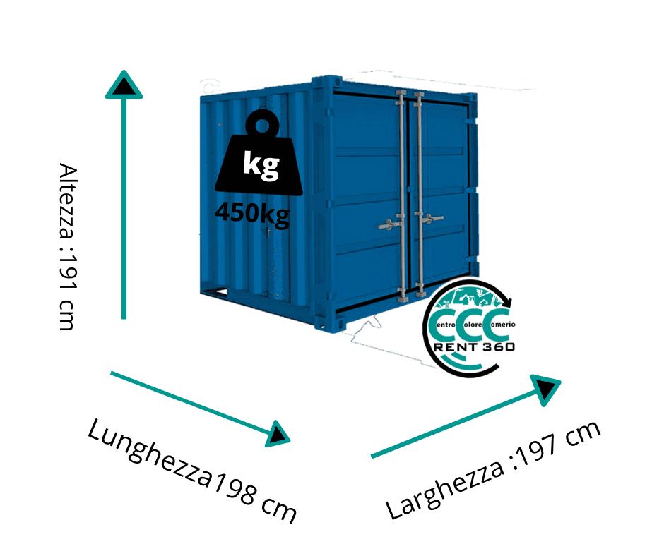 Noleggio Mini Container - Self Storage Milano e Varese