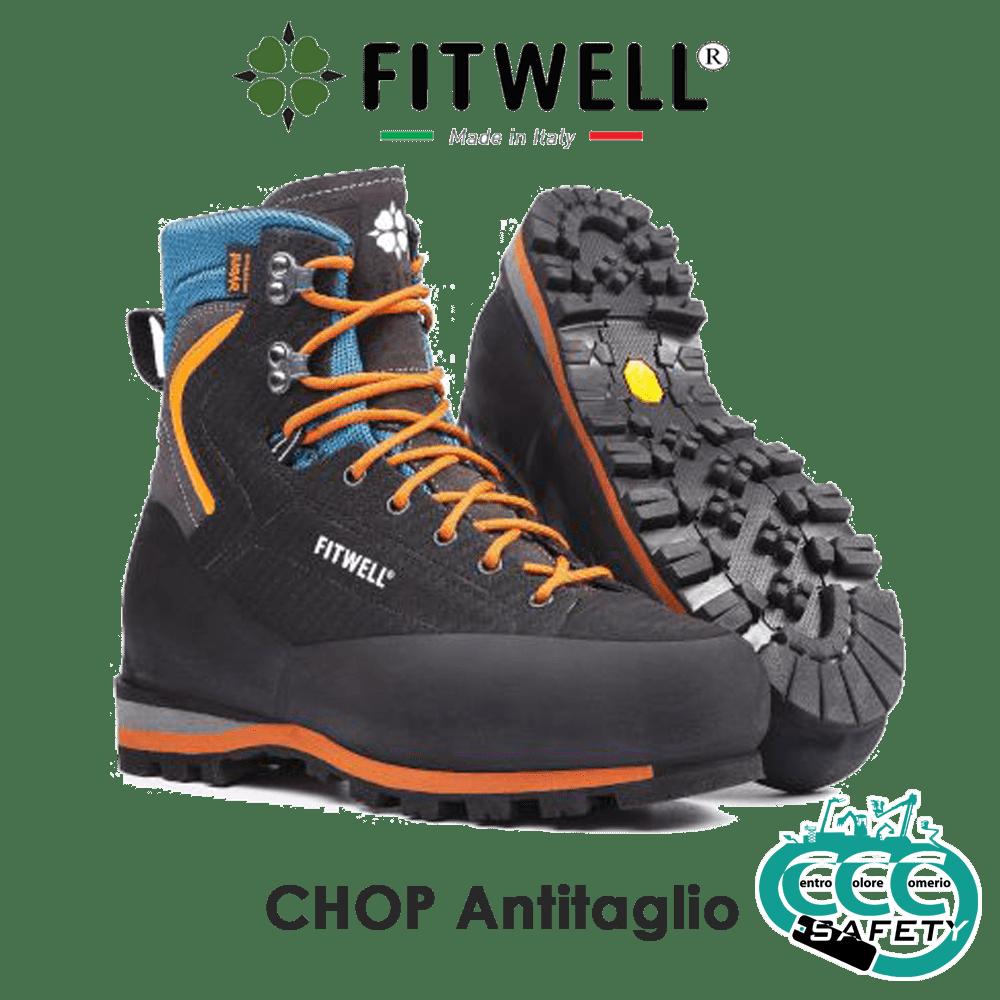 scarponi antitaglio fitwell